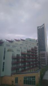 Pogled iz hostla